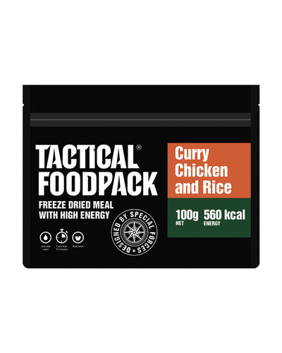 Tactical Foodpack Curry Chicken mit Reis