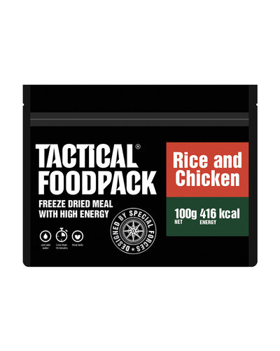 Tactical Foodpack Reis mit Hühnchen